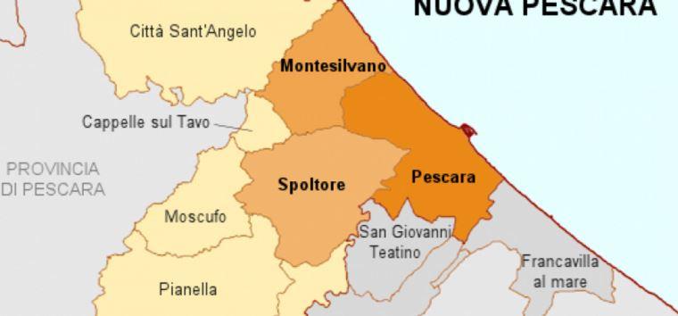 Pescara Cartina.Oggi Dibattito Sul Tema Verso Le Citta Sconfinate Perche Nuova